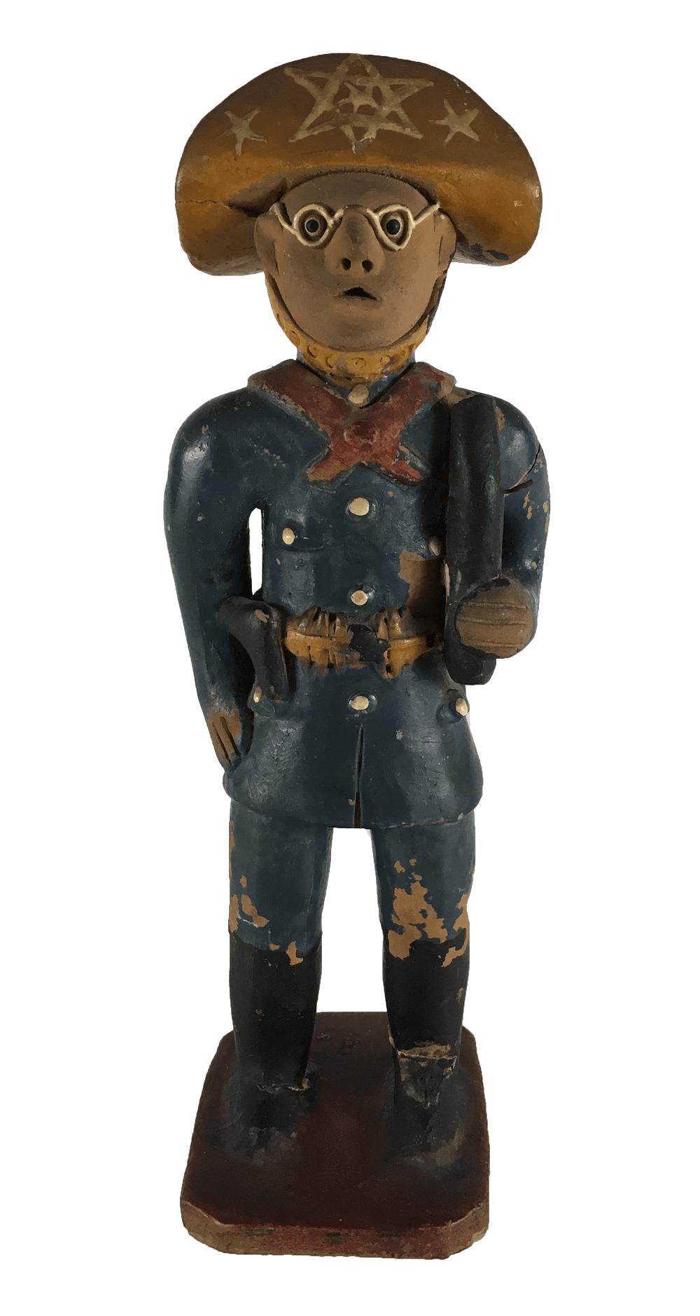 Antiga Escultura Mestre Vitalino Cangaceiro