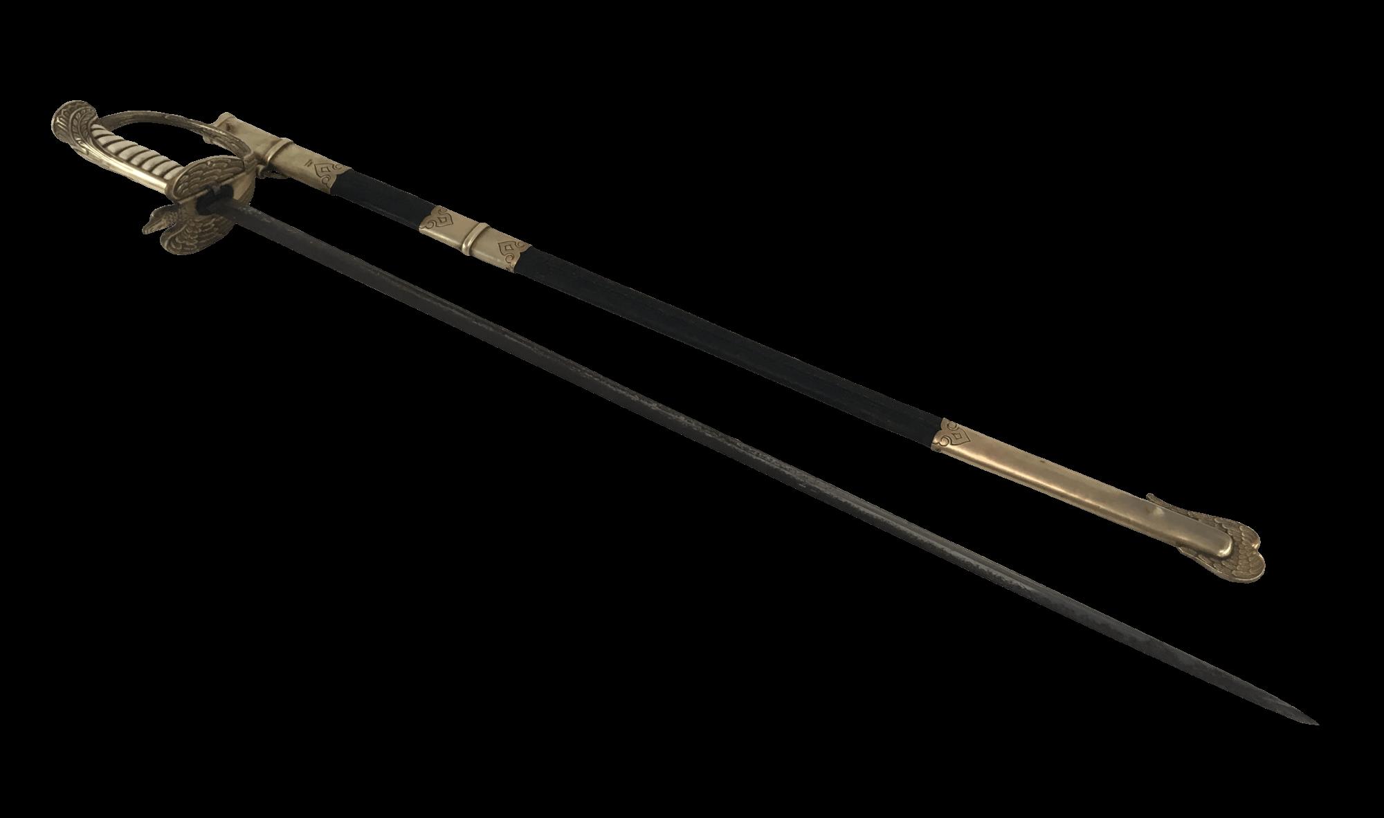 Antiga Espada Militar Aeronautica 94cm