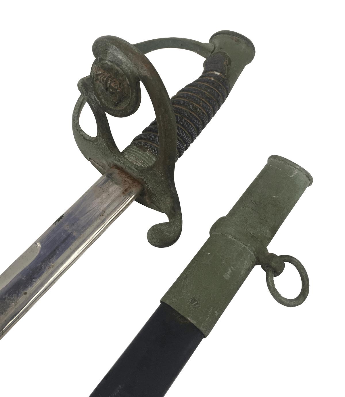 Antiga Espada Militar Marinha Brasileira