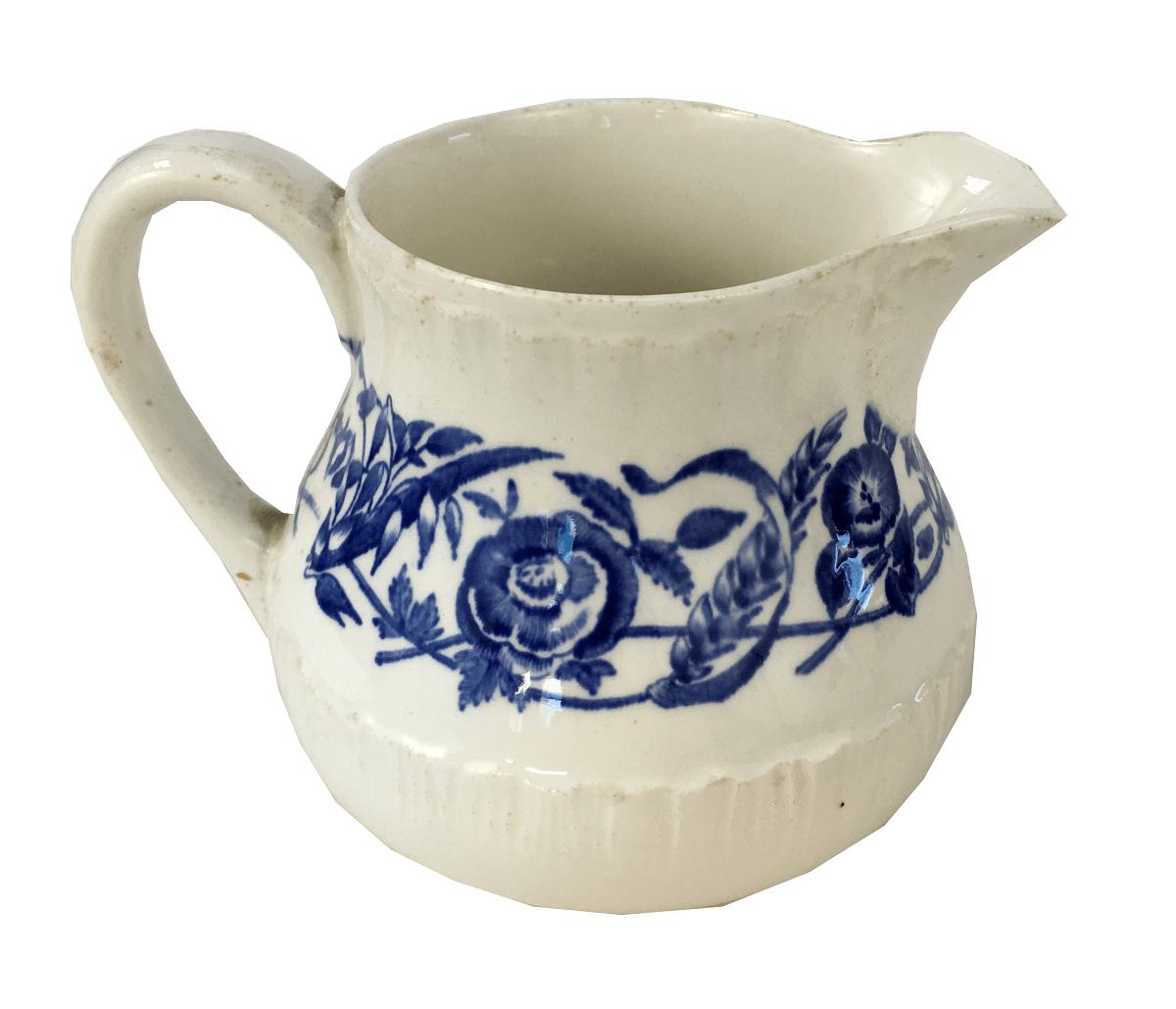 Antiga Leiteira Em Porcelana Inglesa Wengwood