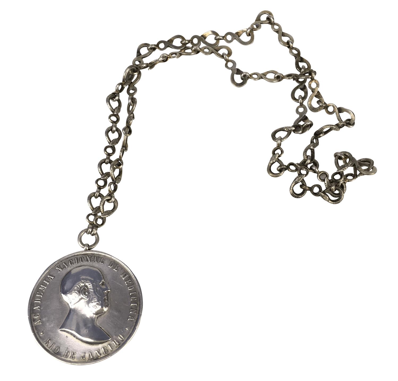 Antiga Medalha Academia Nacional De Medicina