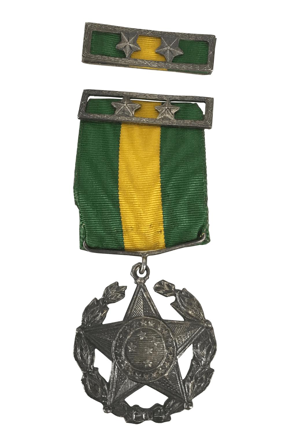 Antiga Comenda Militar Medalha 20 Anos De Prata