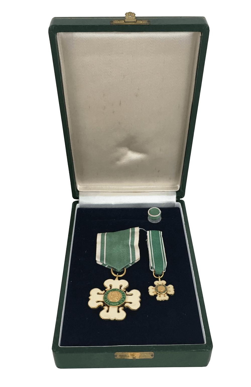 Antiga Medalha Merito Militar Brasil 1934 Na Caixa
