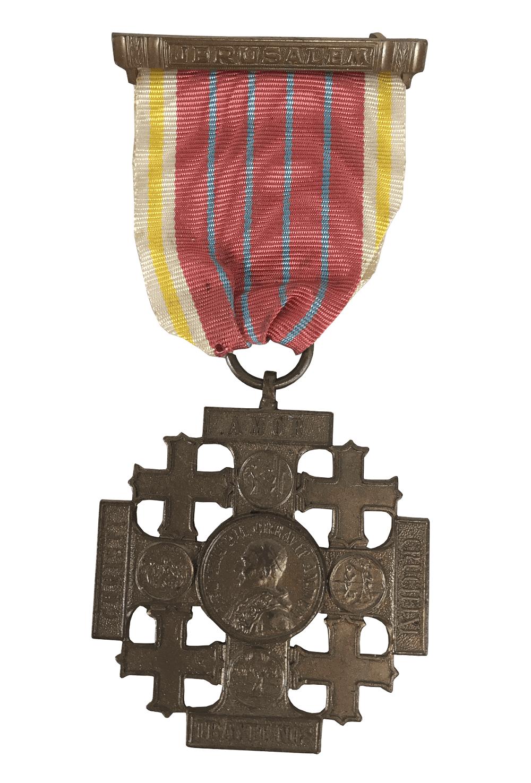 Antiga Medalha MIlitar Serviço Jerusalem