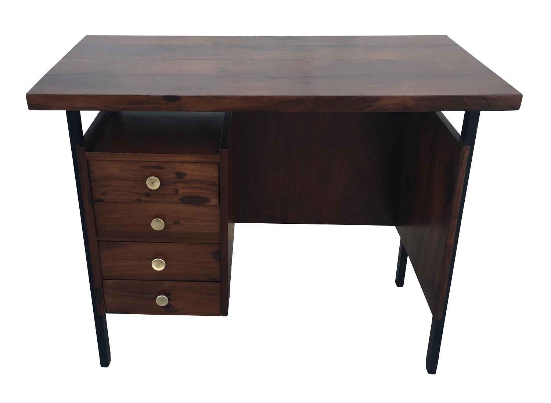 Antiga Mesa Escrivaninha Pequena Jacaranda
