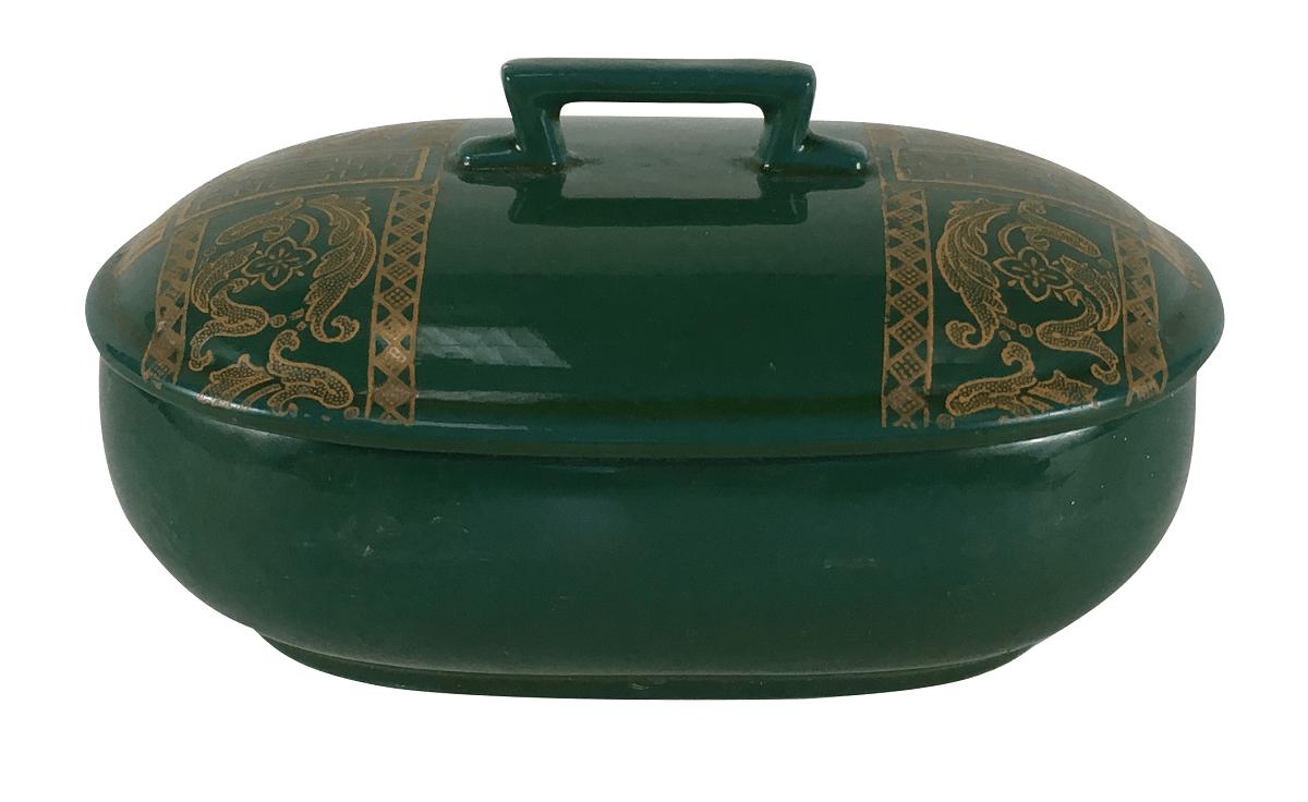 Antiga Saboneteira Porcelana Sarreguemines