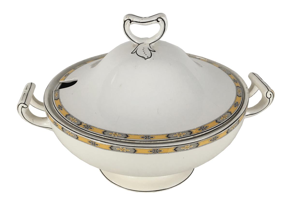 Antiga Sopeira Porcelana Inglesa Grindley