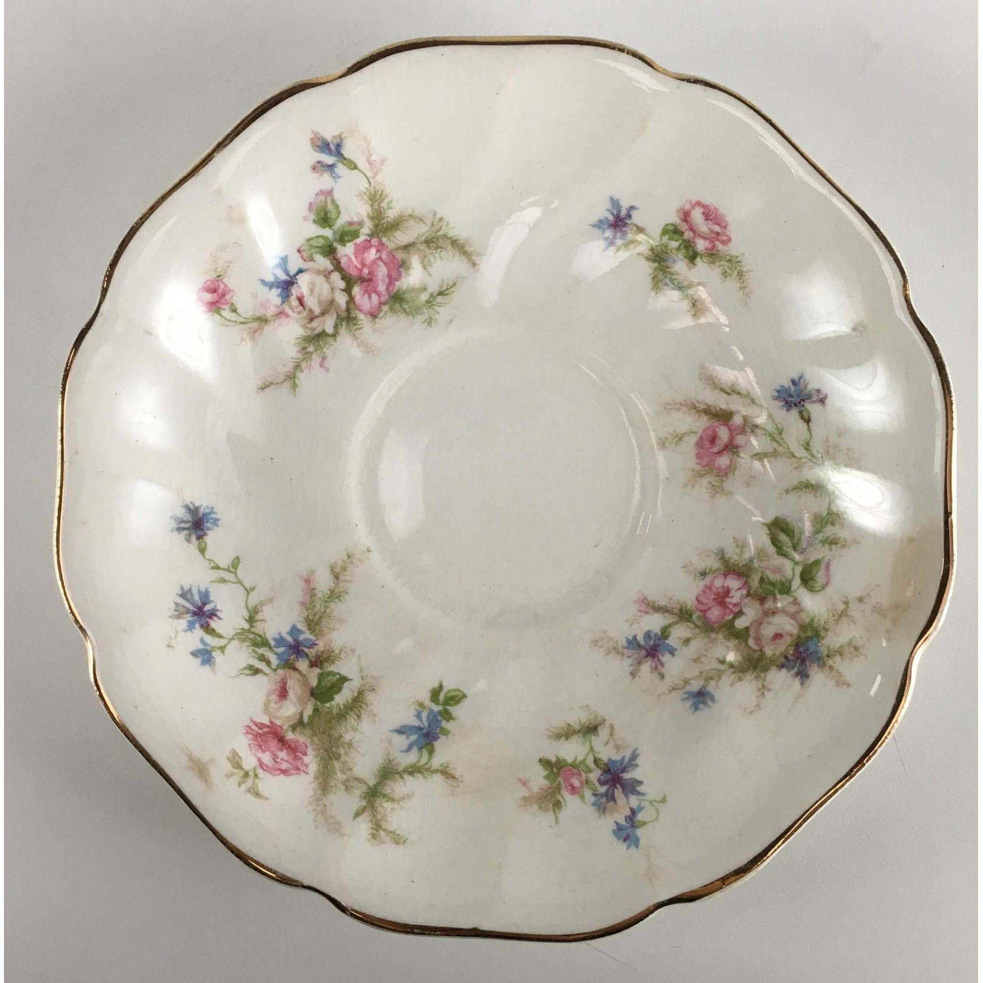 Antiga Xicara De Cha Porcelana Inglesa Johnson Bros