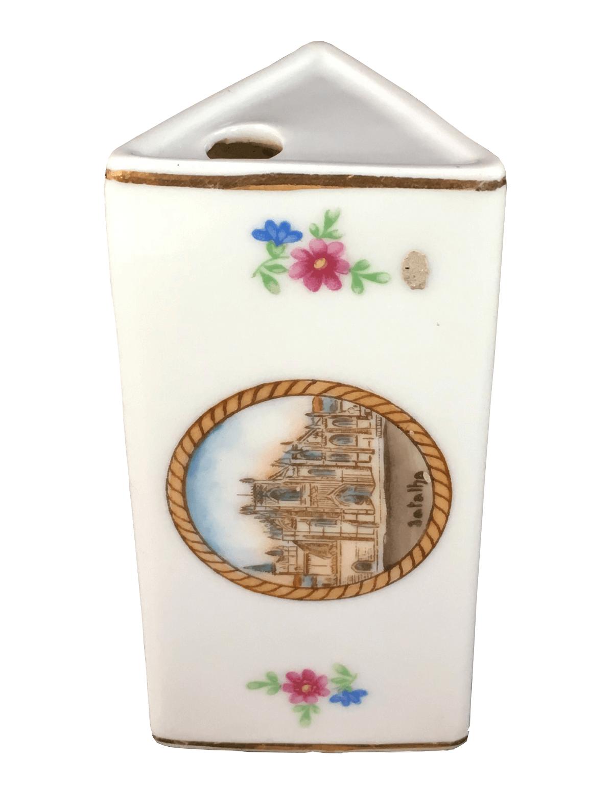 Antigo Paliteiro Porcelana Vista Alegre