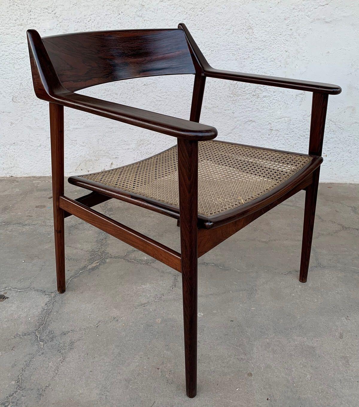 Antigo Par De Poltronas Tenreiro Jacaranda Design Anos 60