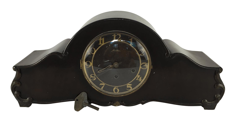 Antigo Relógio Carrilhao De Mesa Mauthe