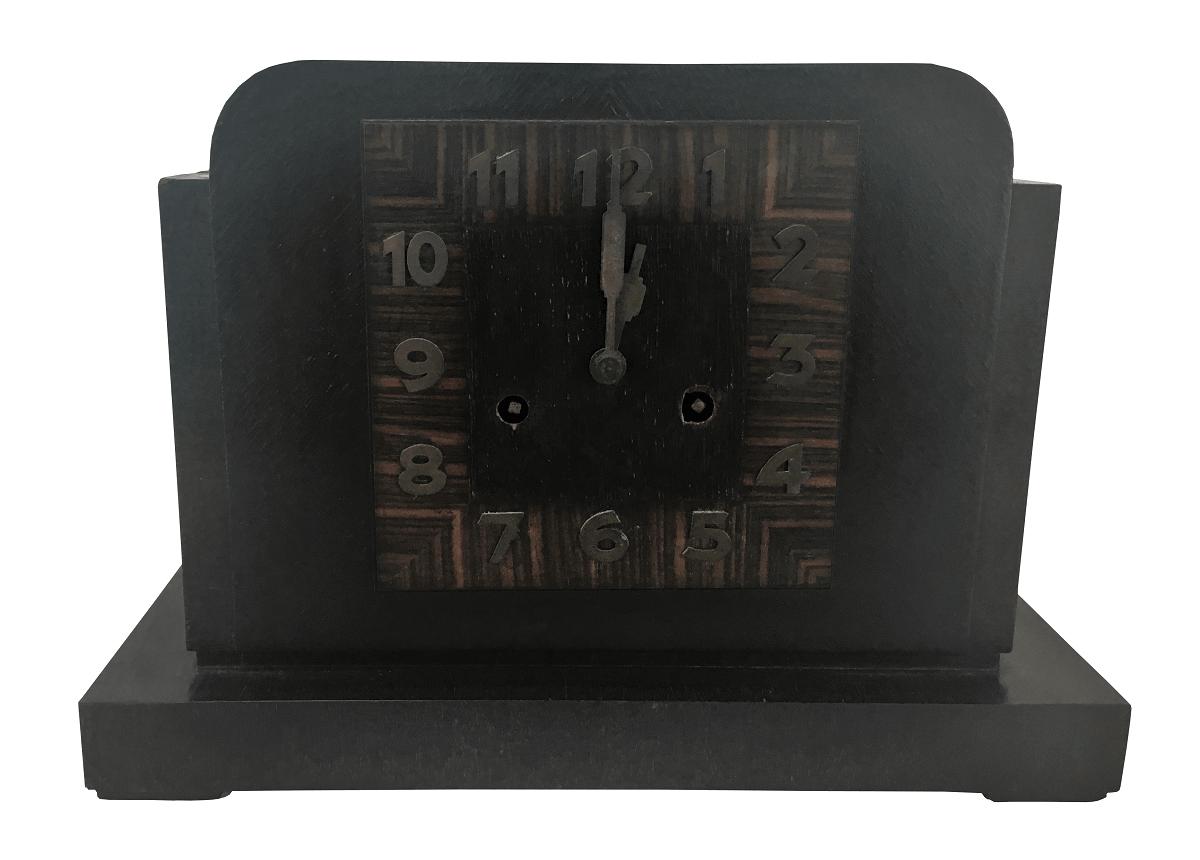 54458201ddd Antigo Relogio De Mesa Art Deco Junghans - Império dos Antigos