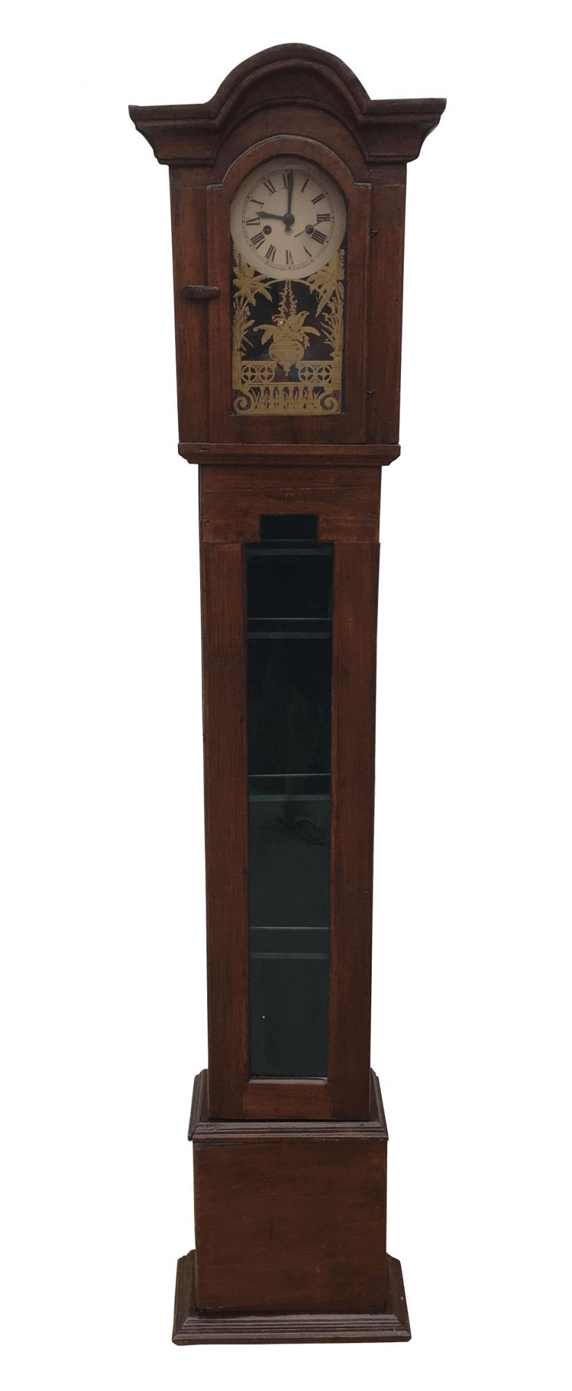 Antigo Relogio Pedestal Ansonia