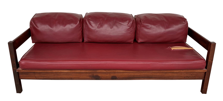 Antigo Sofa Anos 60 Jacaranda Design Belissimo