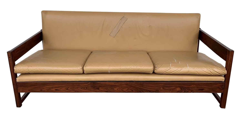 Antigo Sofa Jacaranda Design Anos 60
