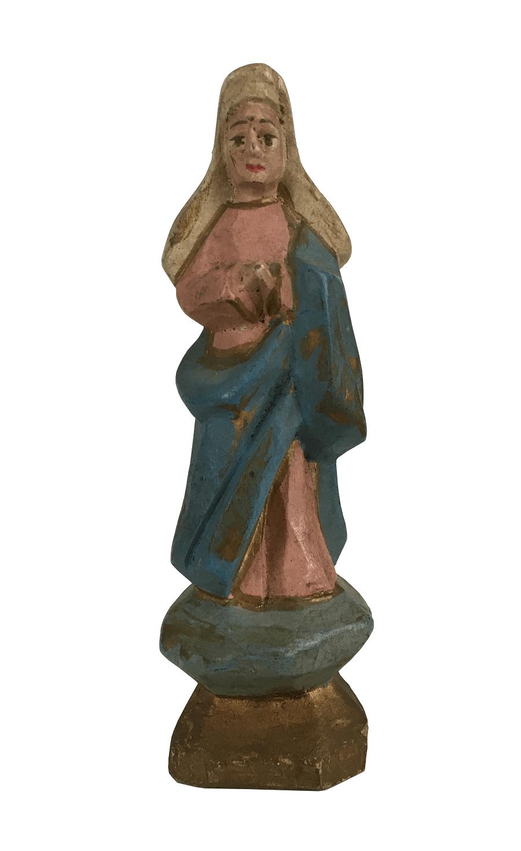 Arte Sacra Imagem Santa Madeira Pequena