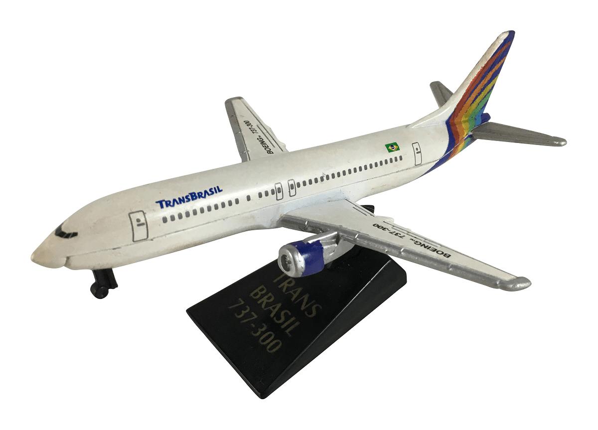 Aviao Boeing 737-300 Antigo TransBrasil