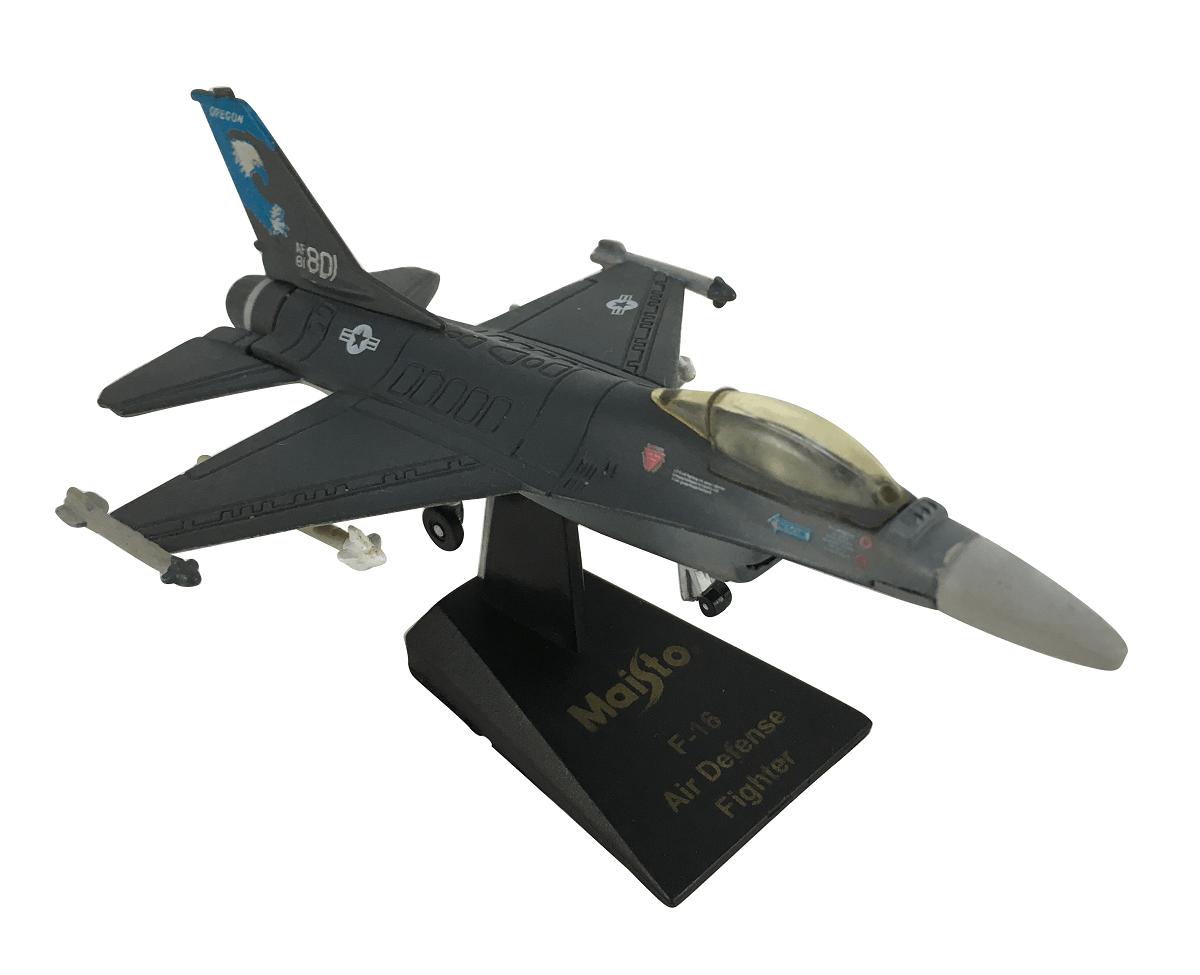 Aviao Caça Air Defense Fighter F-16 Miniatura