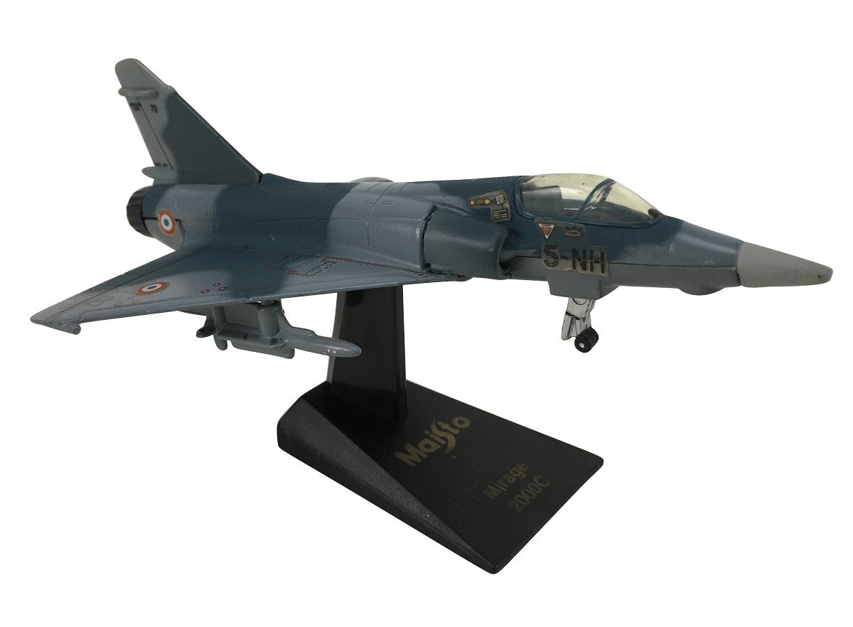 Aviao Caça Mirage 2000C Em Miniatura Maisto