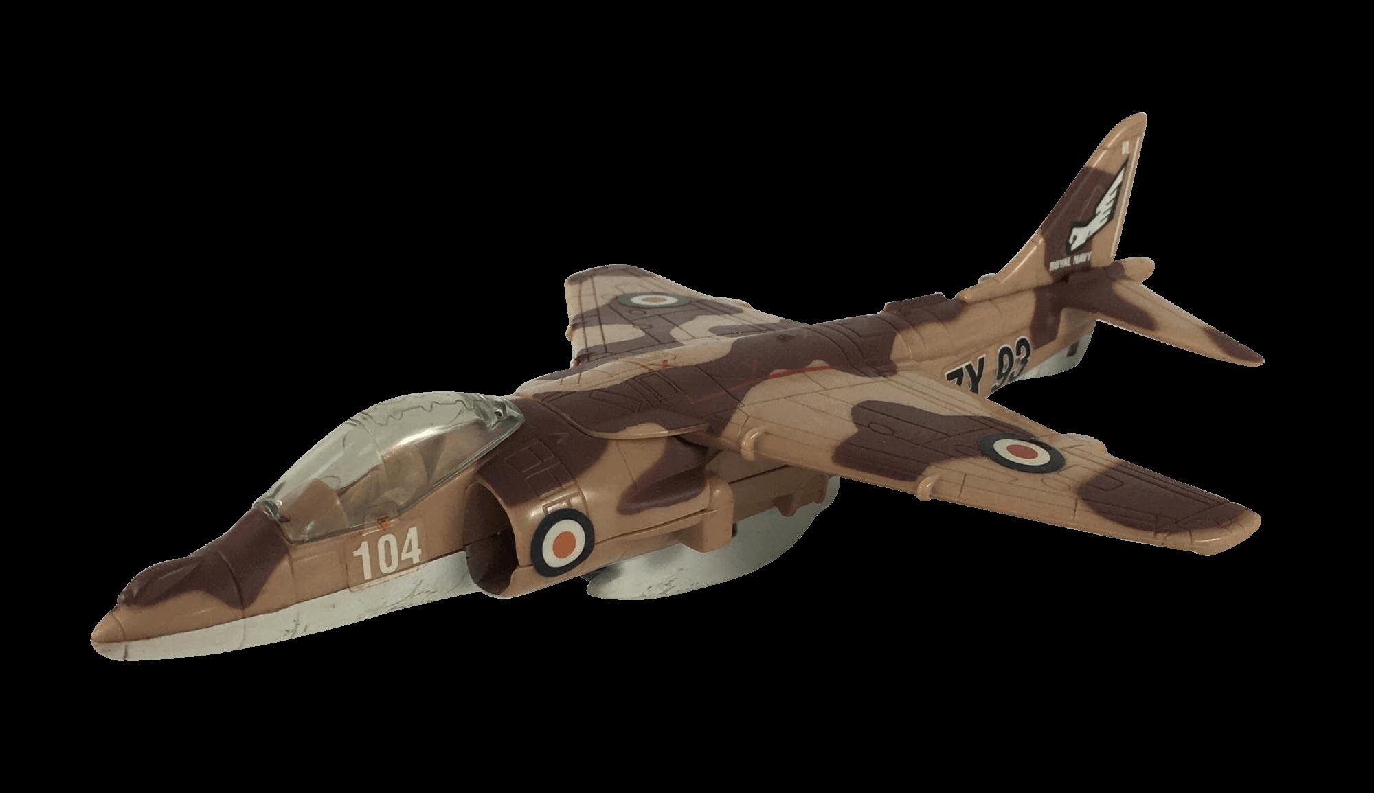 Aviao Militar Miniatura Royal Navy ZX93