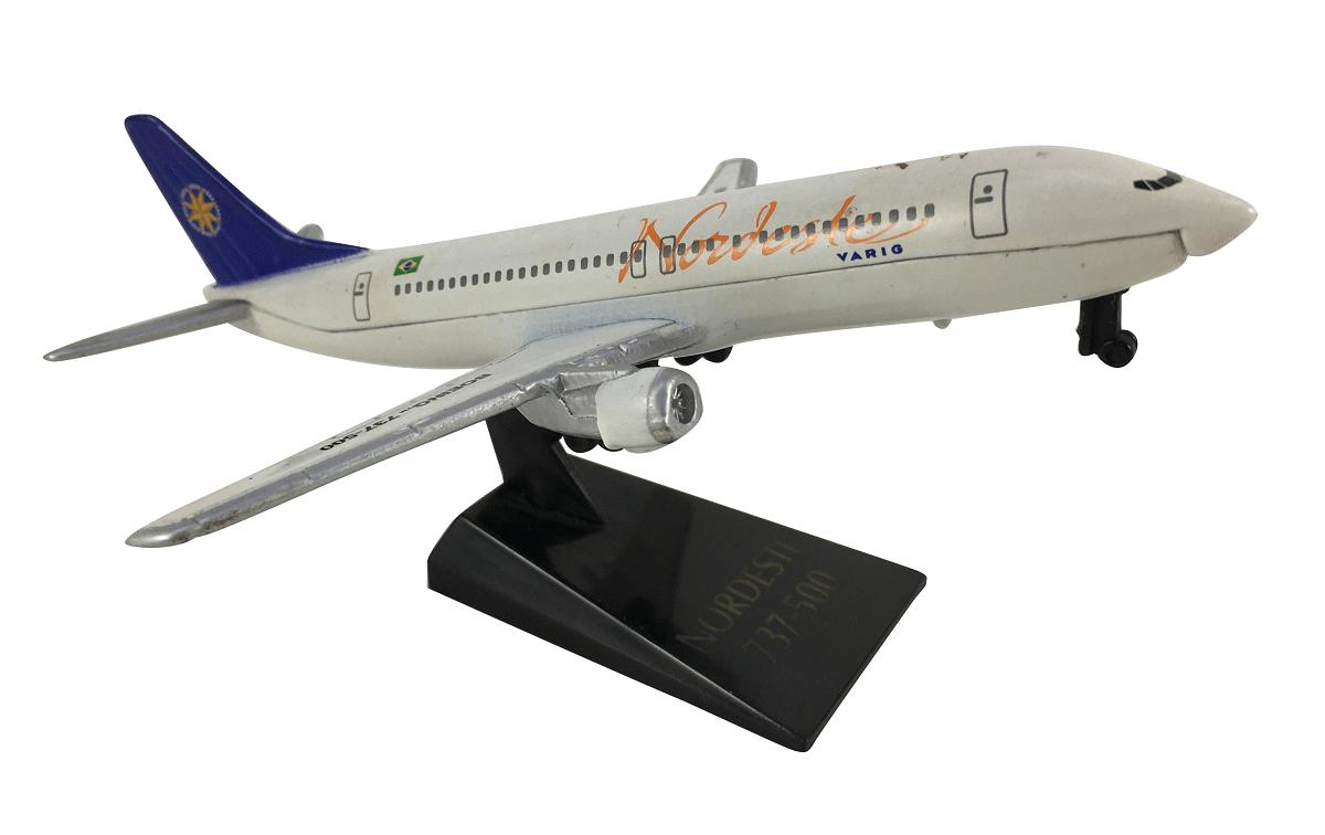 Aviao Miniatura Boeing 737-500 Varig