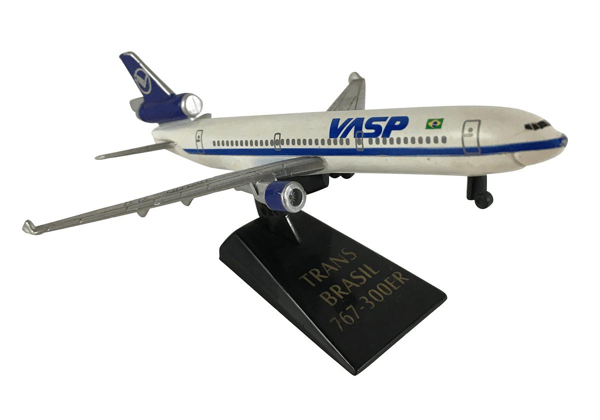 Aviao Vasp MD11 TransBrasil 767-300ER Miniatura