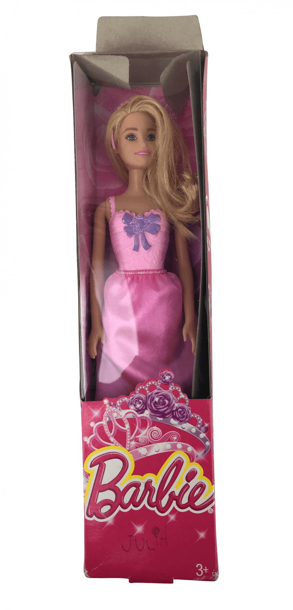 Barbie Boneca Princesa Na Caixa Usada