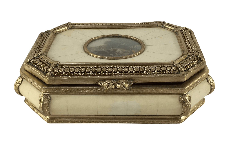 Belissima Caixa Porta Joia Antiga