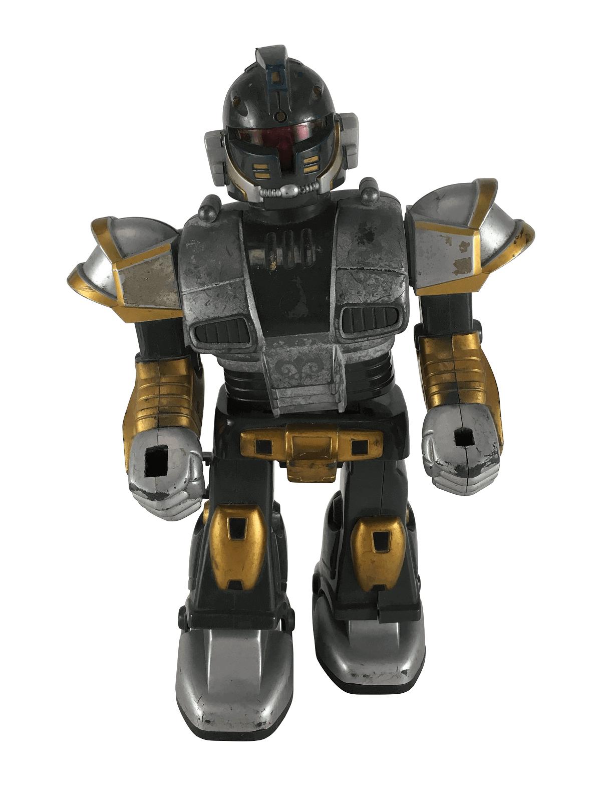 Brinquedo Antigo Robo Toy Rappkid A Pilha