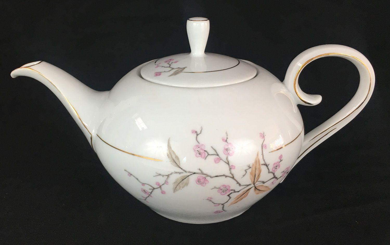 Bule De Cha Antigo Porcelana Schmidt Flores