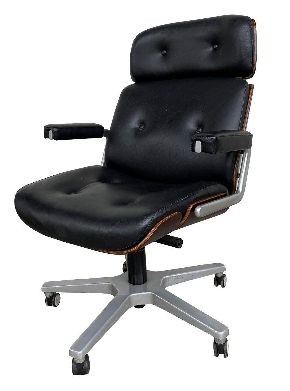 Cadeira Escritorio Giratoria Usada Charles Eames Madeira