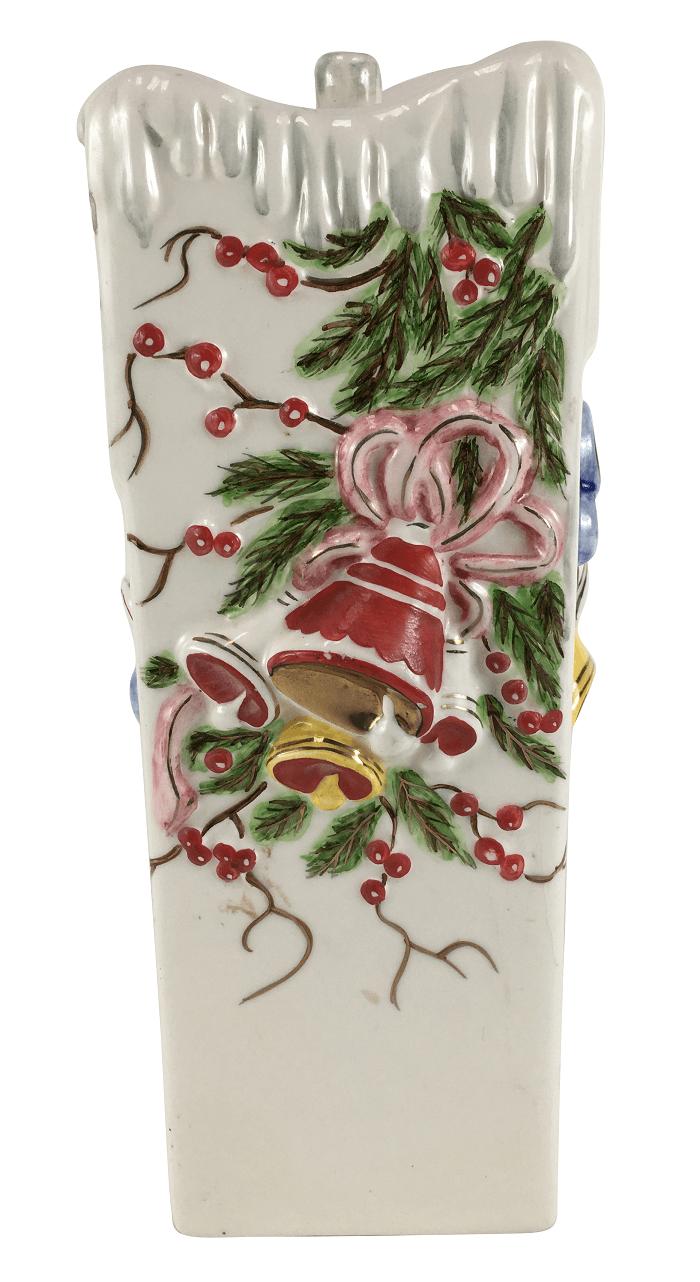 Castiçal Antigo Ceramica Weiss Natalino
