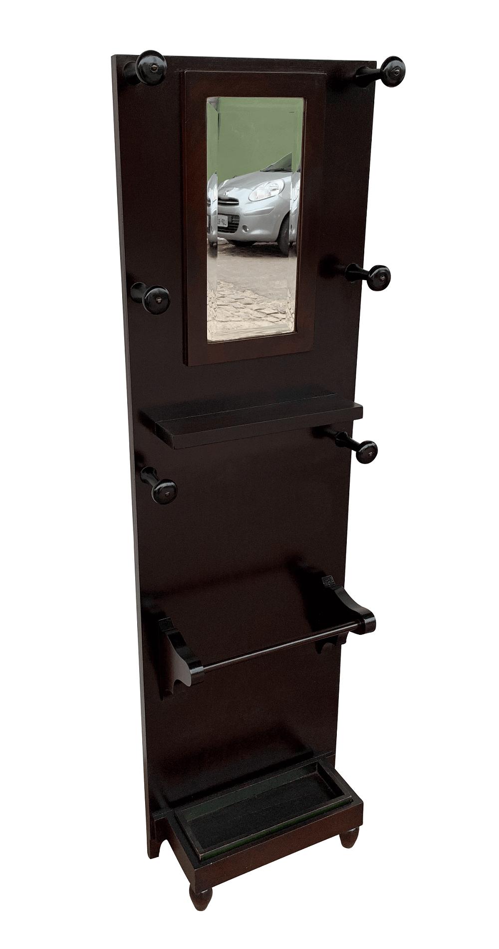 Chapeleiro Antigo Art Deco Espelho Bisotado