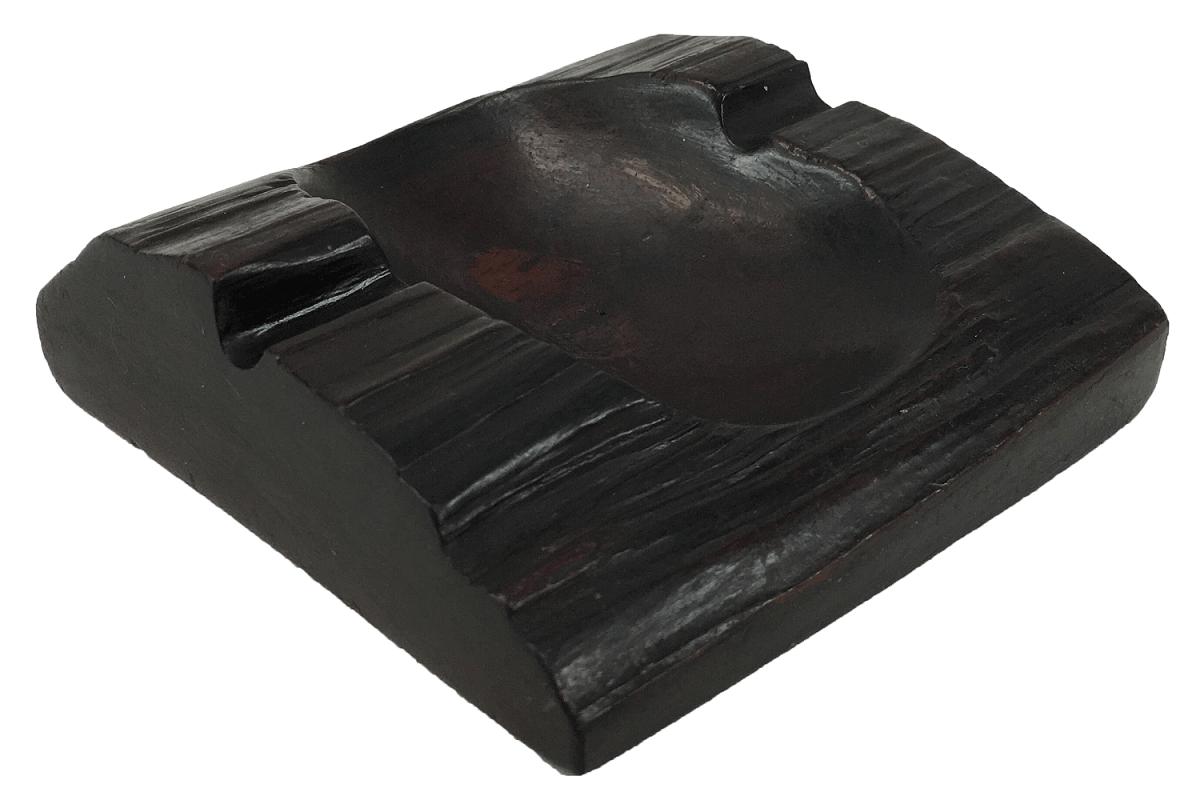 Cinzeiro Antigo Em Jacaranda