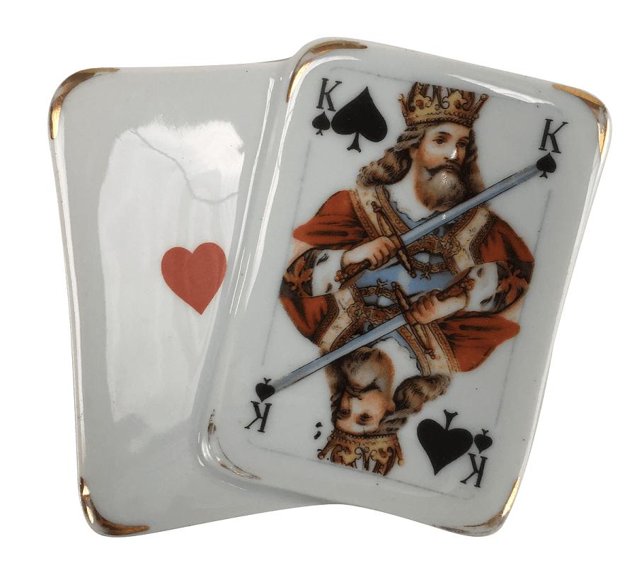 Cinzeiro Em Porcelana Limoges Carta