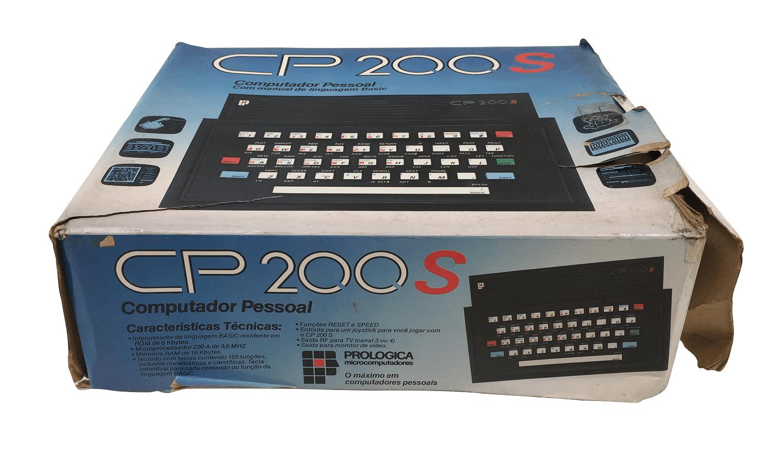 Computador Antigo CP200s Na Caixa
