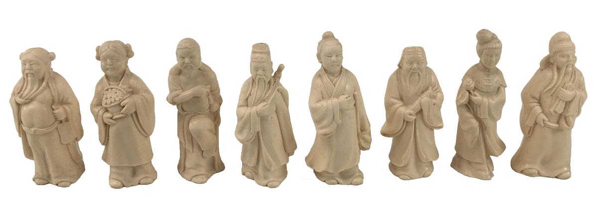 Deuses Orientais Antigo Em Resina