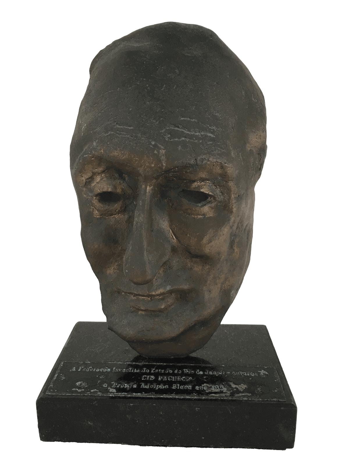 Escultura Antiga Em Bronze Premiaçao