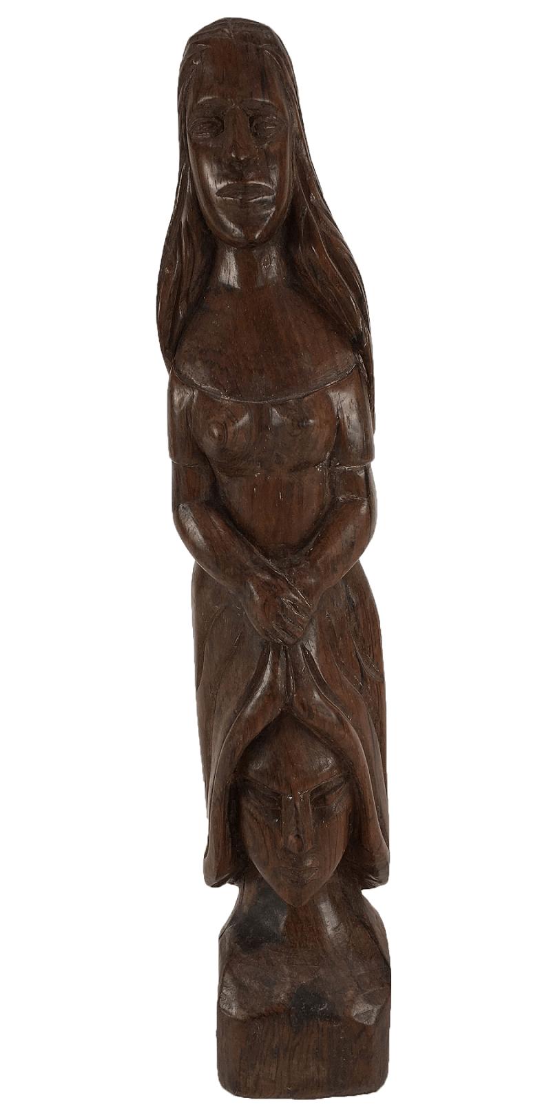 Escultura Antiga Jacaranda Baiana