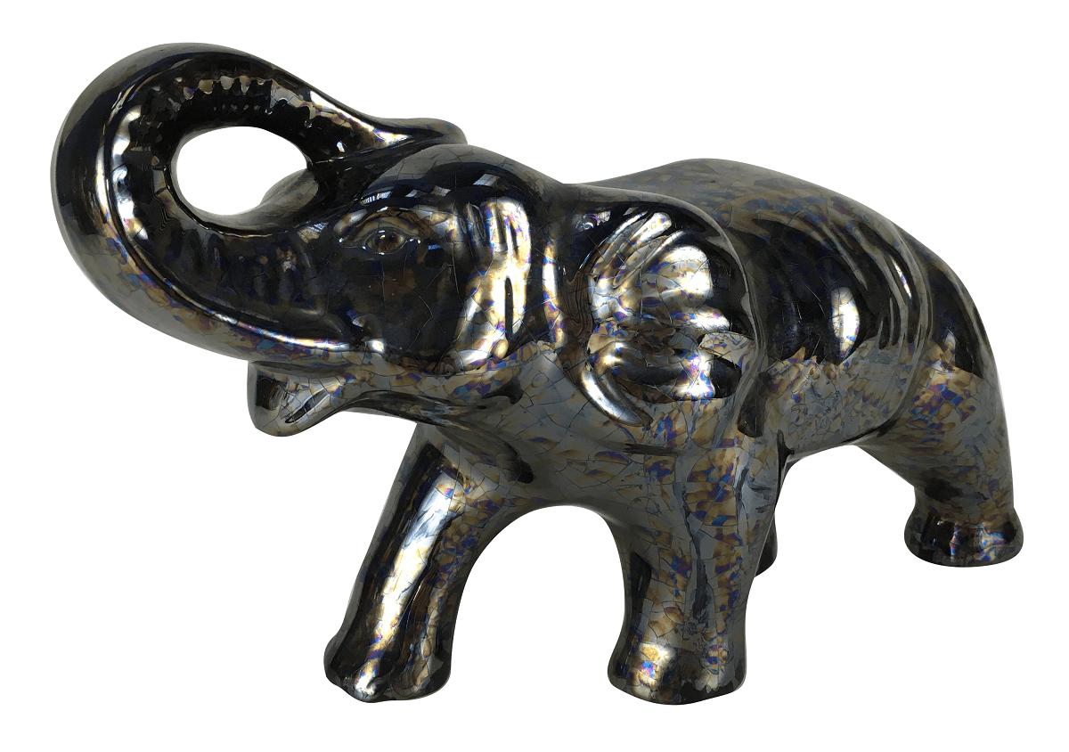 Escultura Ceramica Elefante Furtacor