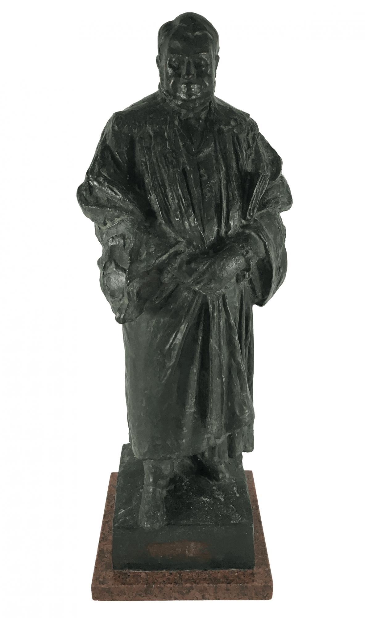 Escultura De Bronze Antiga Jurista Teixeira De Freitas