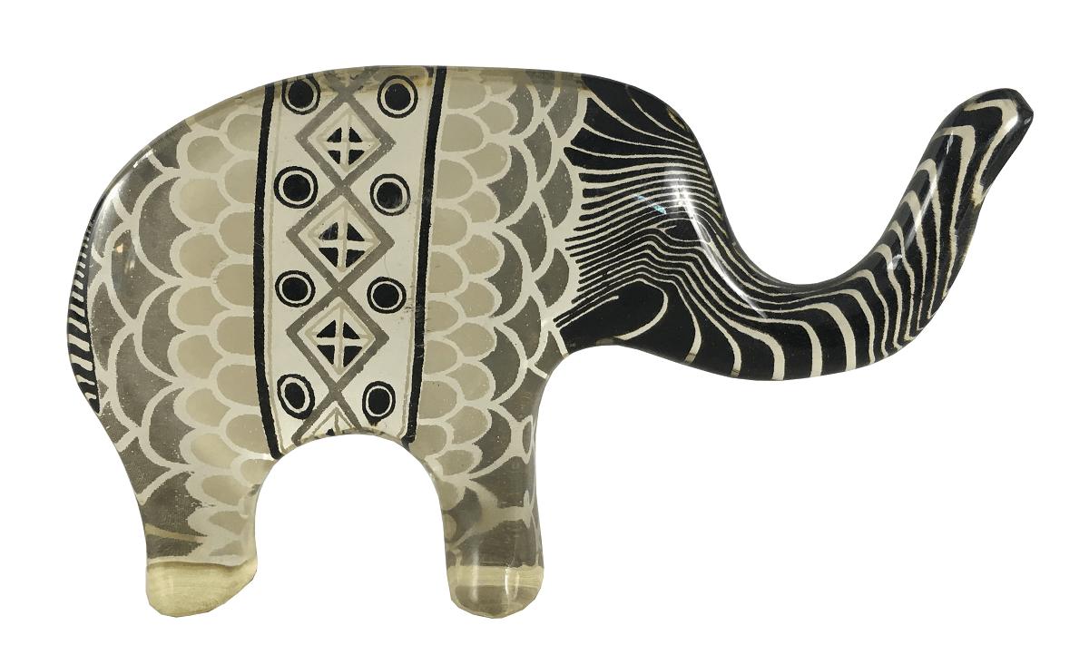 Escultura Palatnik Elefante Acrilico Perfeita