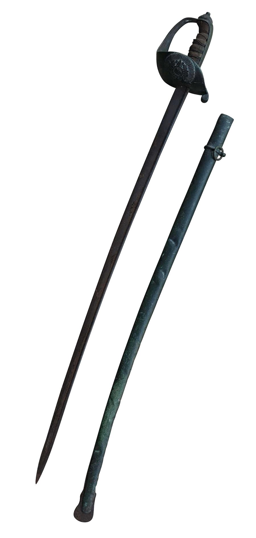 Espada Militar Brasileira Exercito Muito Antiga