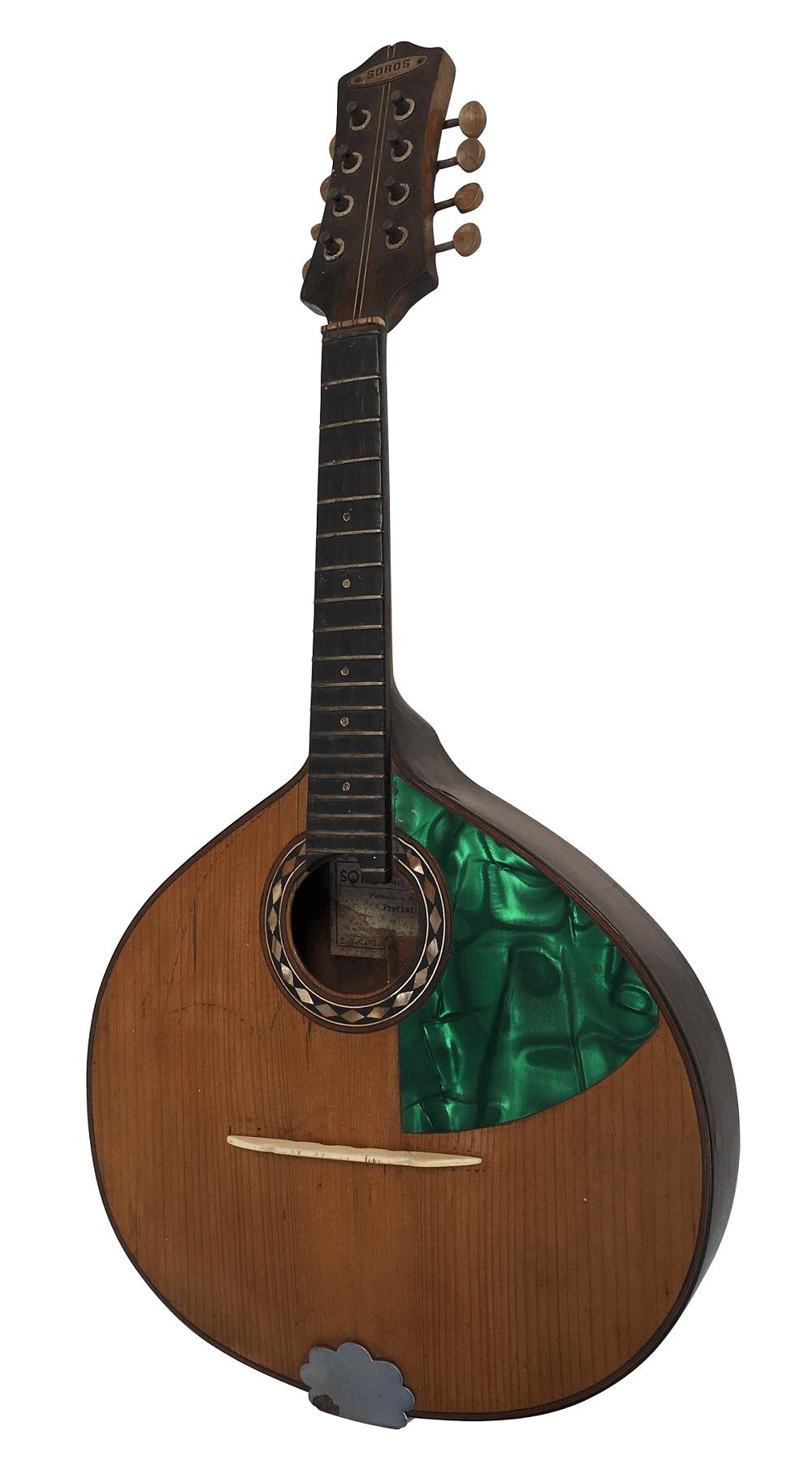 Espetacular Bandolim Soros Madreperola Instrumento Antigo