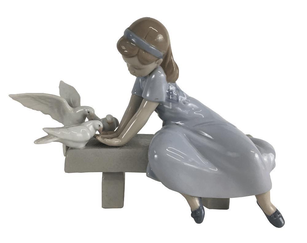 Espetacular Escultura Porcelana Lladro Perfeita Original