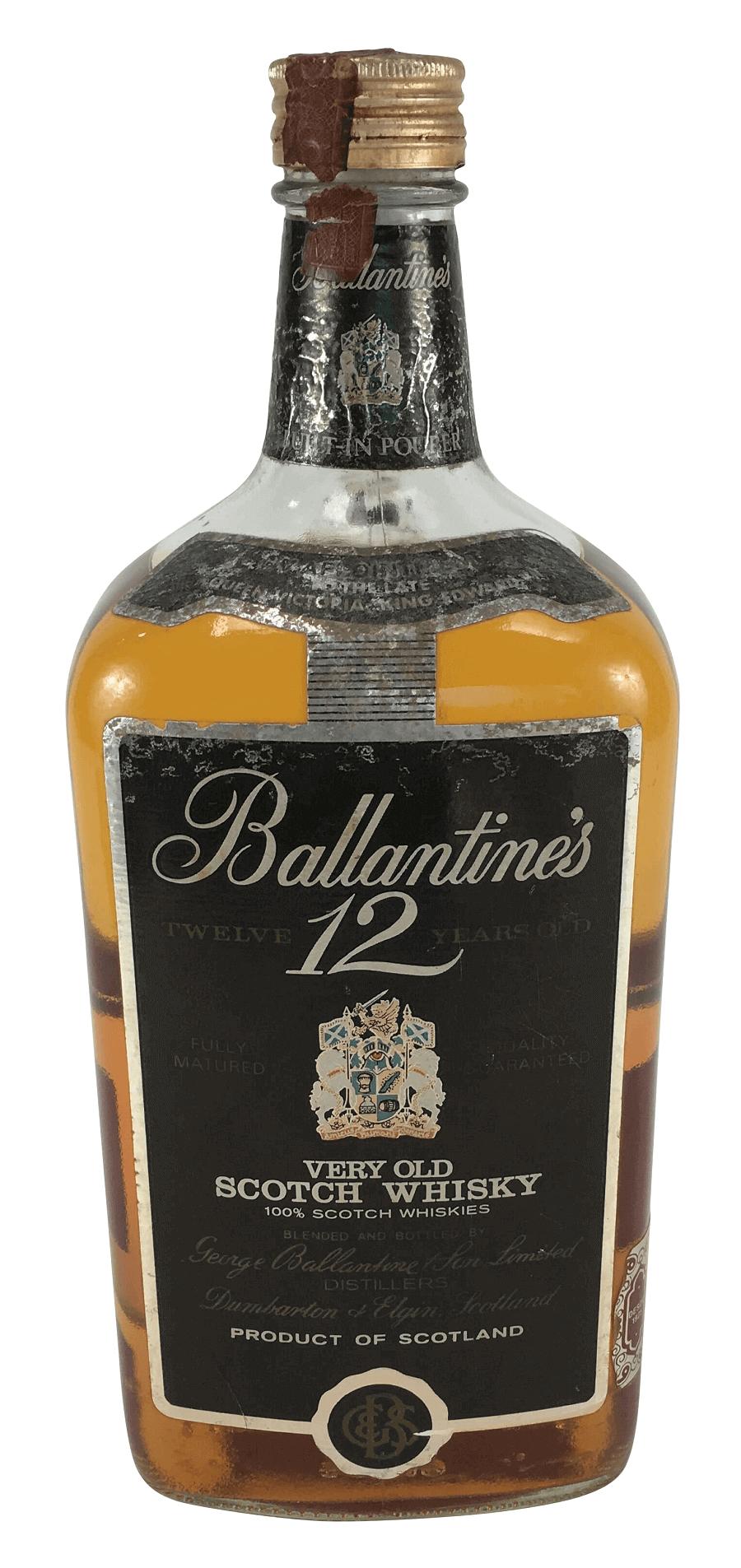Grande Whisky Antigo Ballantines 12 Anos 1,75l Lacrado