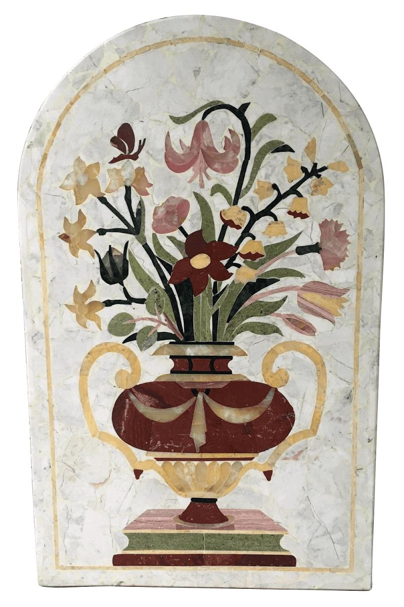 Linda Placa Decorativa De Parede Em Marmore