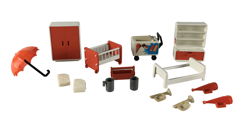 Lote Acessorios Playmobil Antigo