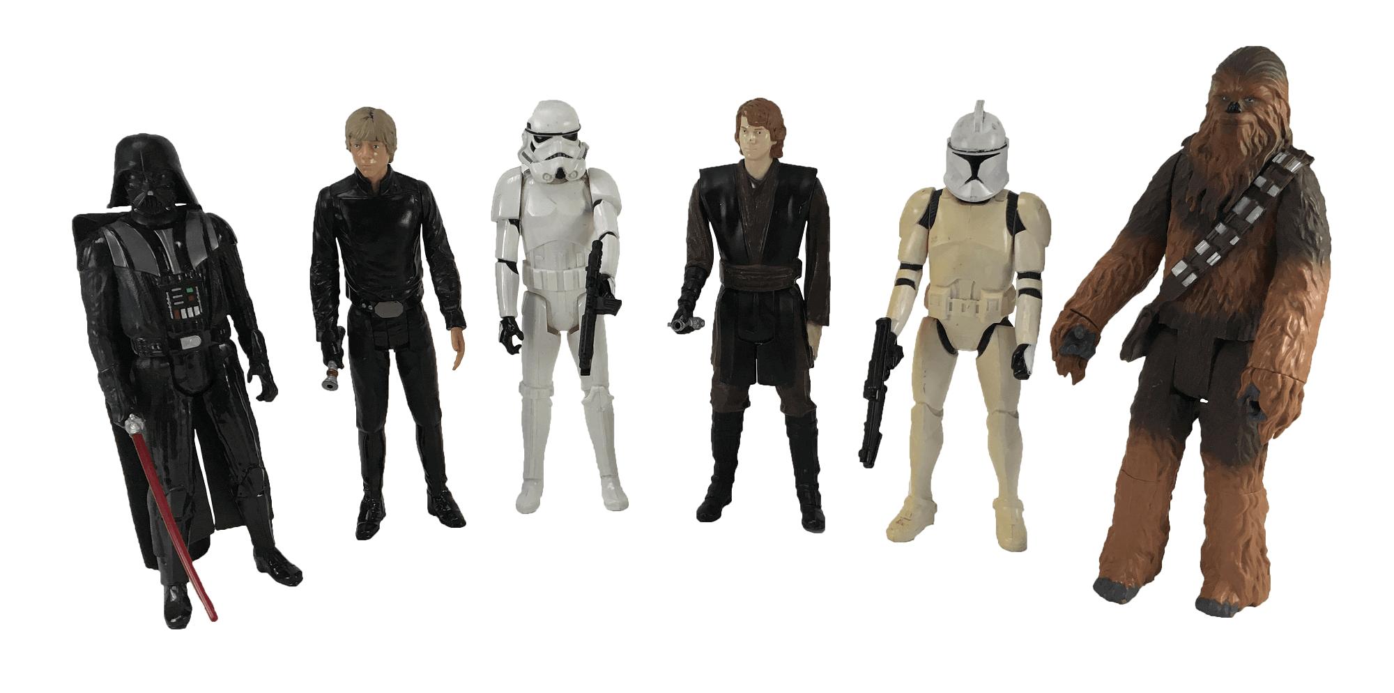 Lote Bonecos Star Wars Hasbro Usado