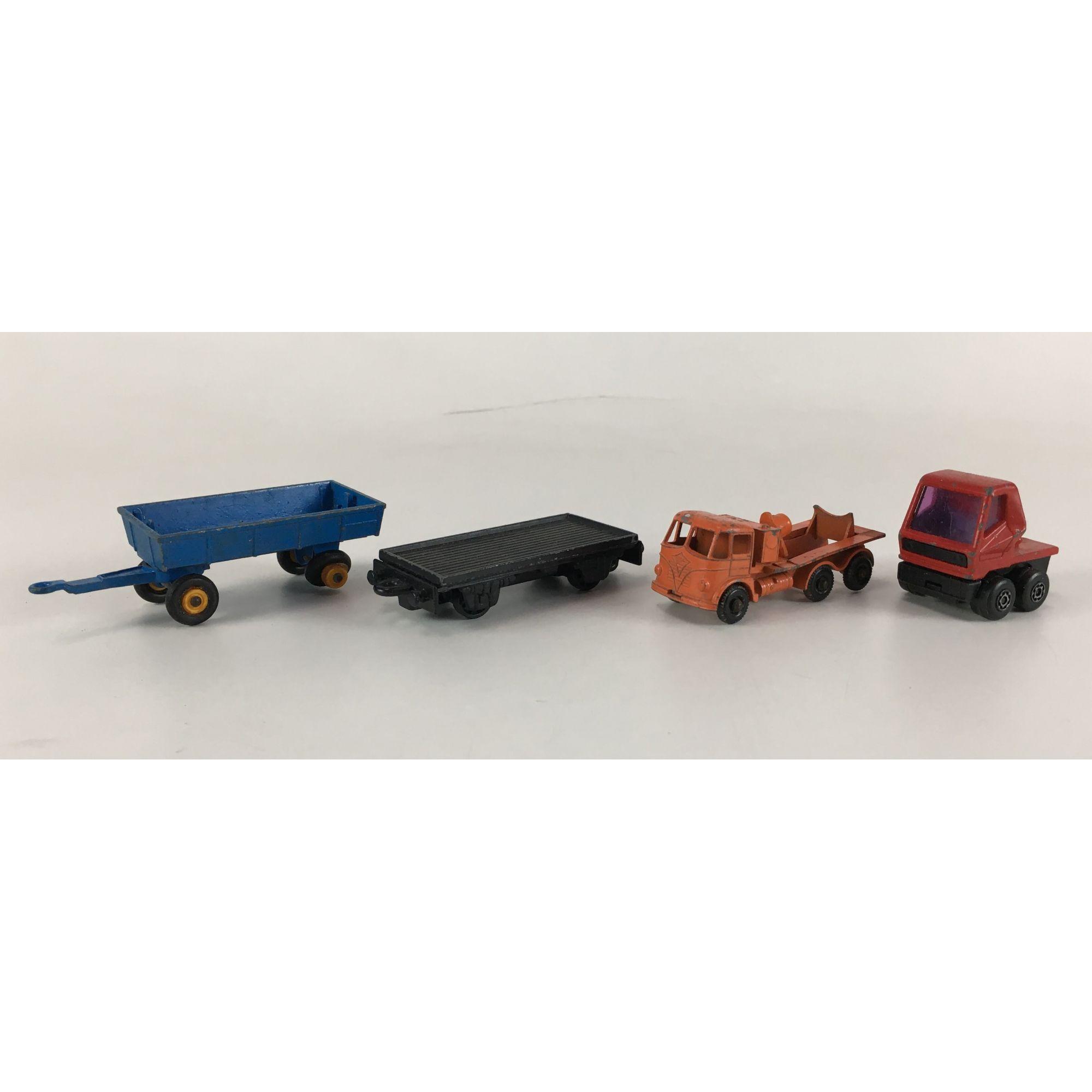 Lote Miniaturas Matchbox 4 Carrinhos